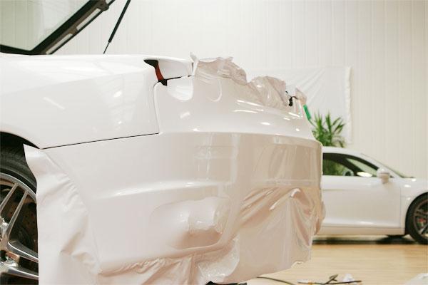 Folierung Ferrari F430 Heck