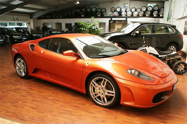 Folierung Ferrari F430 vorher